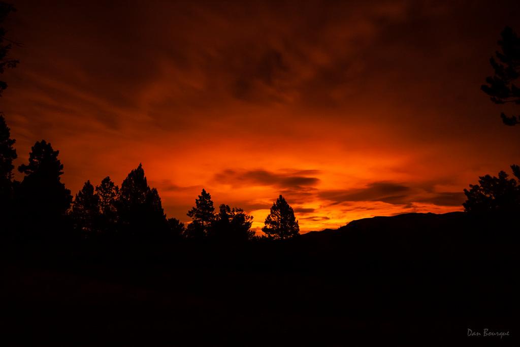 fiery glow burning sunset - photo #6
